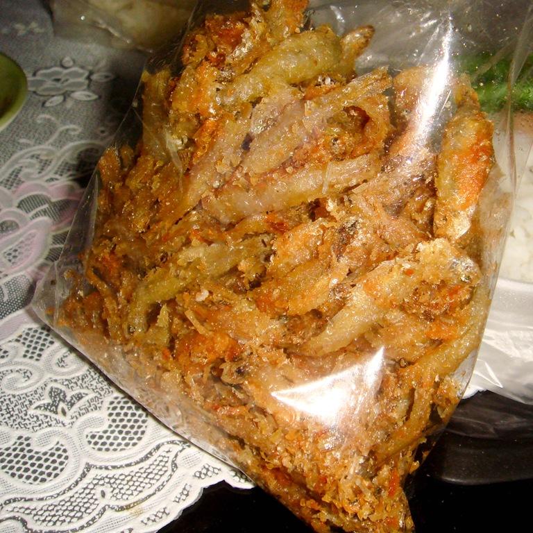 A bag of deep fried minnows duda online for Deep fried fish